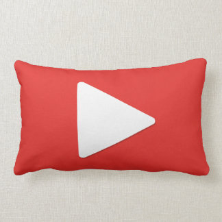 Video Play Button Pillow | Vlogging Pillow