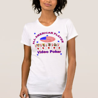 Video Poker ALL AMERICAN PLAYER T-Shirt