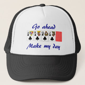 Video Poker : go ahead make my day  Cap