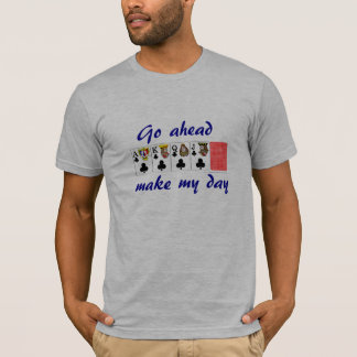video poker : Go ahead make my day T-Shirt