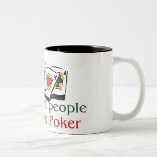 VIdeo Poker Lover's two tone mug