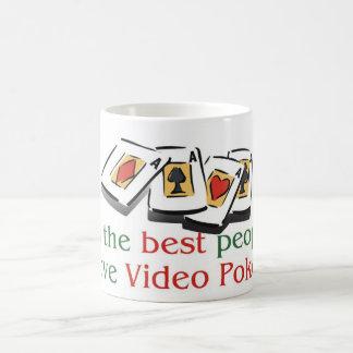 Video Poker morphing mug