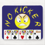 Video poker mouse pad