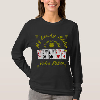 Video Poker : My lucky shirt Deuces wild