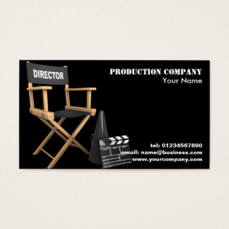 Video Production Business Cards