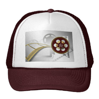 Video Reel Art Trucker Hat