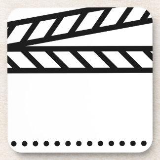 Video Slate Drink Coaster