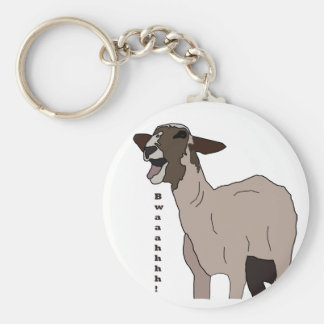 Video star goat screaming! keychain