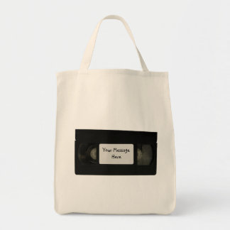 Video Tape Canvas Bag