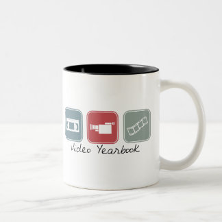 Video Yearbook (Squares) Coffee Mugs