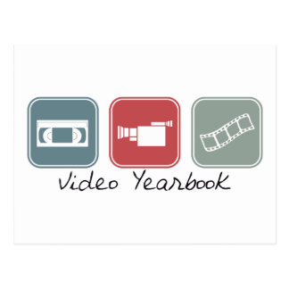 Video Yearbook (Squares) Postcard