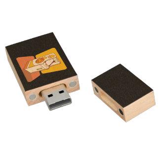Videoconsola alta de la arcada pen drive de madera USB 2.0