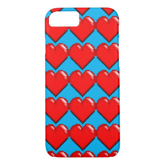 Videogame Life Heart - Pixel Heart iPhone 7 Case