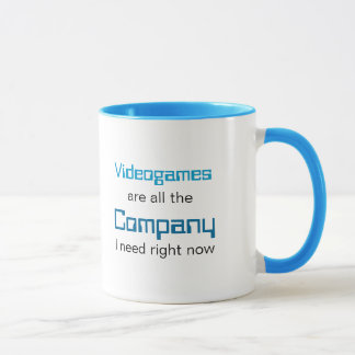 Videogames are Company Mug