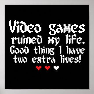 Videogames! Poster