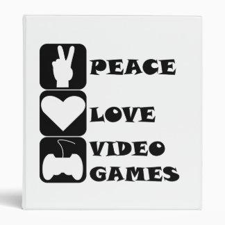 Videojuegos del amor de la paz