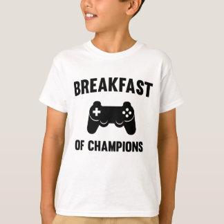 Videojuegos. Desayuno de campeones Playera