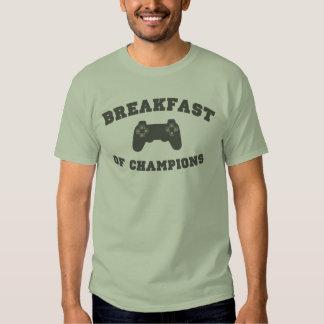 Videojuegos, desayuno de campeones playeras