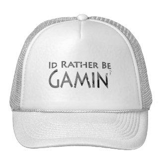 Videojuegos y juego - sería bastante el juego 2 gorras de camionero