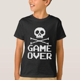 Videojugador clásico - juego encima playera