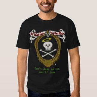 videojugador de la escuela vieja camisas