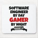 Videojugador de la Software Engineer Alfombrillas De Ratón