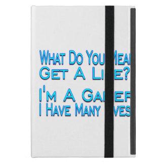 Videojugador de muchas vidas iPad mini carcasa