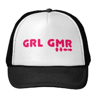 Videojugador del chica - juego del friki de los vi gorras de camionero