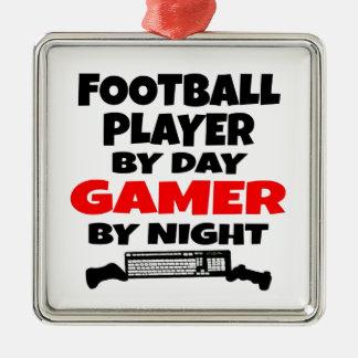Videojugador del futbolista adornos