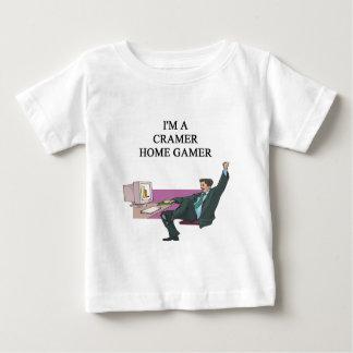 videojugador del hogar del cramer de jim tshirt