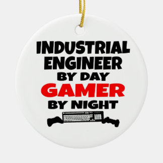 Videojugador del ingeniero industrial ornamento de reyes magos
