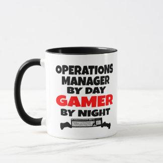 Videojugador del jefe de explotación taza