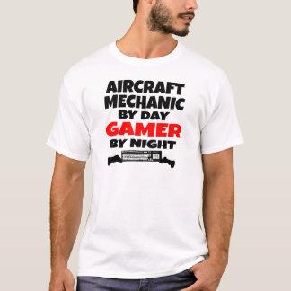 Videojugador del mecánico de aviones playera
