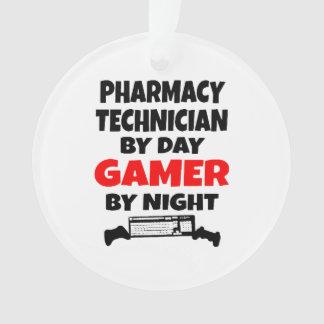 Videojugador del técnico de la farmacia