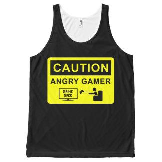 Videojugador divertido