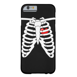 Videojugador en el caso del iPhone 6 del corazón Funda Barely There iPhone 6