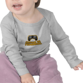 Videojugador en Trainiing - regulador Camiseta