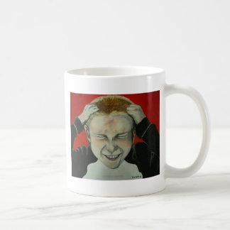 Videojugador furioso taza de café