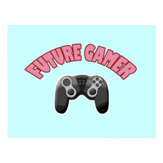 Videojugador futuro - rojo y regulador postal