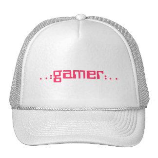 .: videojugador:. gorra (rosado)
