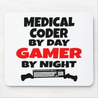 Videojugador médico del codificador alfombrilla de ratón