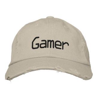 Videojugador - modificado para requisitos particul gorra de beisbol bordada