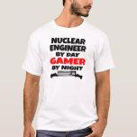 Videojugador nuclear del ingeniero playera