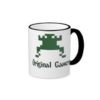 Videojugador original de la escuela vieja taza
