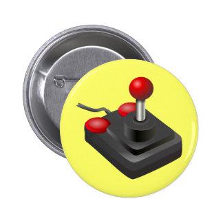 Videojugador - palanca de mando pins
