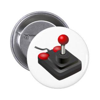 Videojugador - palanca de mando pin
