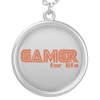Videojugador para la vida colgante redondo