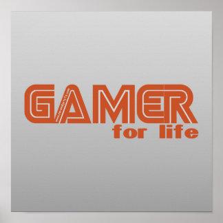 Videojugador para la vida póster