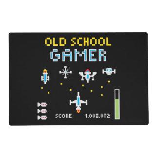 Videojugador Placemat de la escuela vieja Tapete Individual