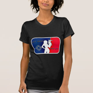 ¡Videojugador Pwns del chica usted! Camiseta